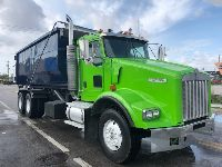 2005 KENWORTH T-800 ROLL OFF TRUCK