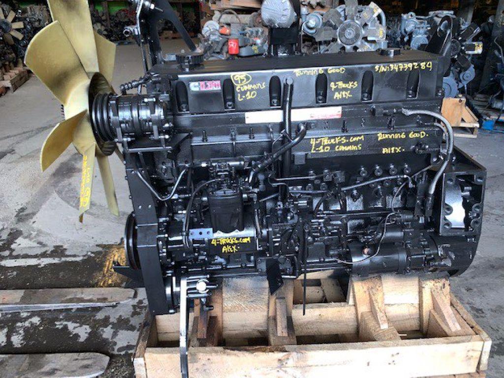 1995 CUMMINS L10 ENGINES 300HP , 100-0606191 - SN: 34739284