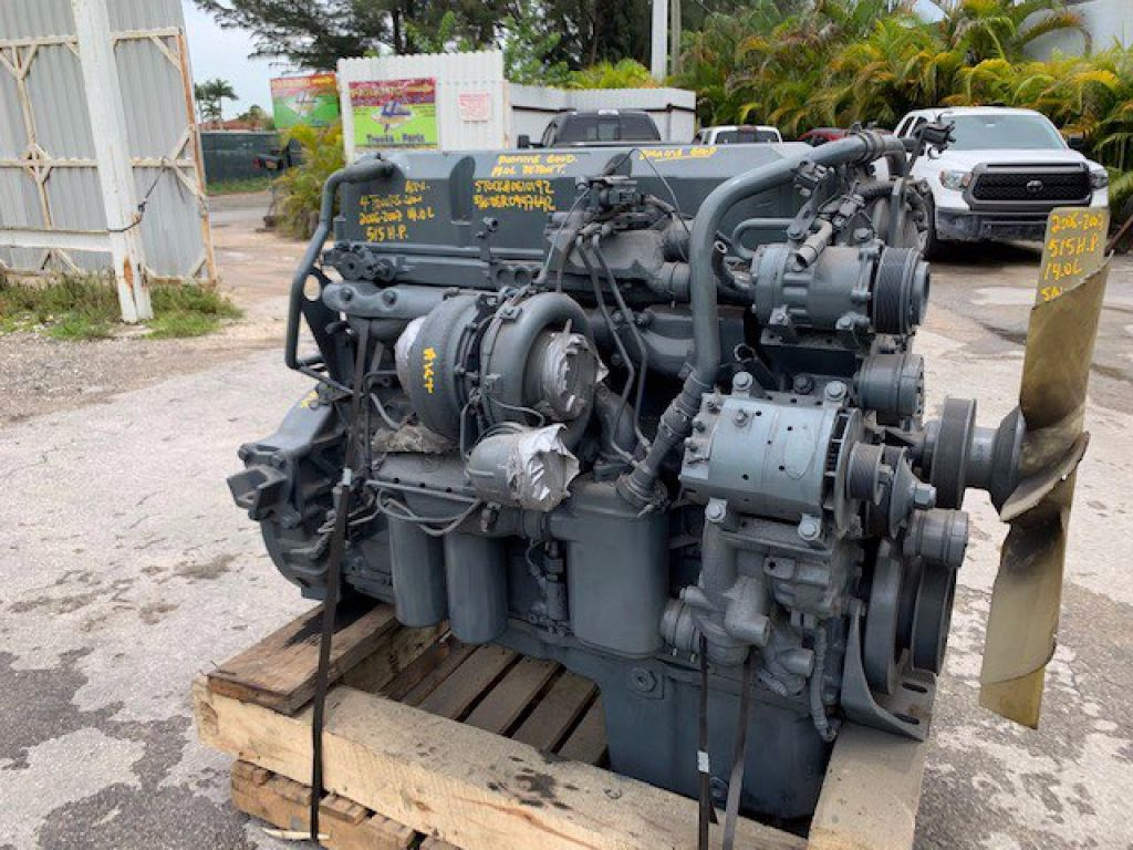 2007 DETROIT 14.0L EGR ENGINES 515HP , 122-0610192 - SN: 06R0947672