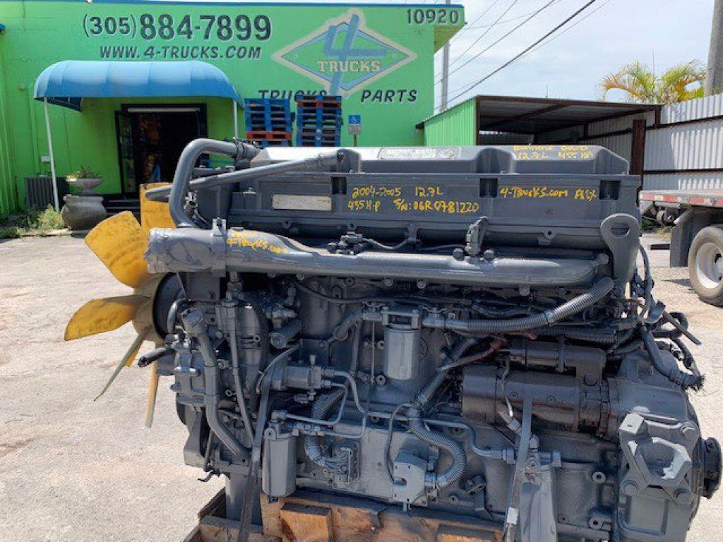 2005 DETROIT 12.7L EGR ENGINES 455HP , 124-0610194 - SN: 06R0781220