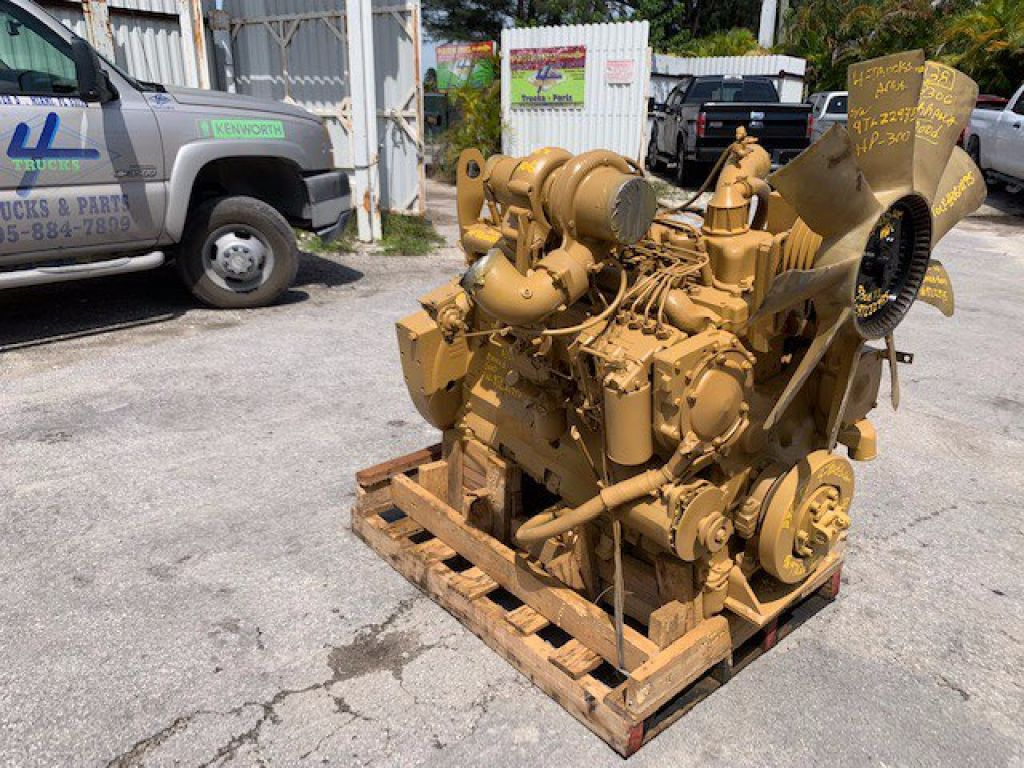 1997 CATERPILLAR 3306 DI ENGINES 300HP , 125-0610195 - SN: 9TL22975