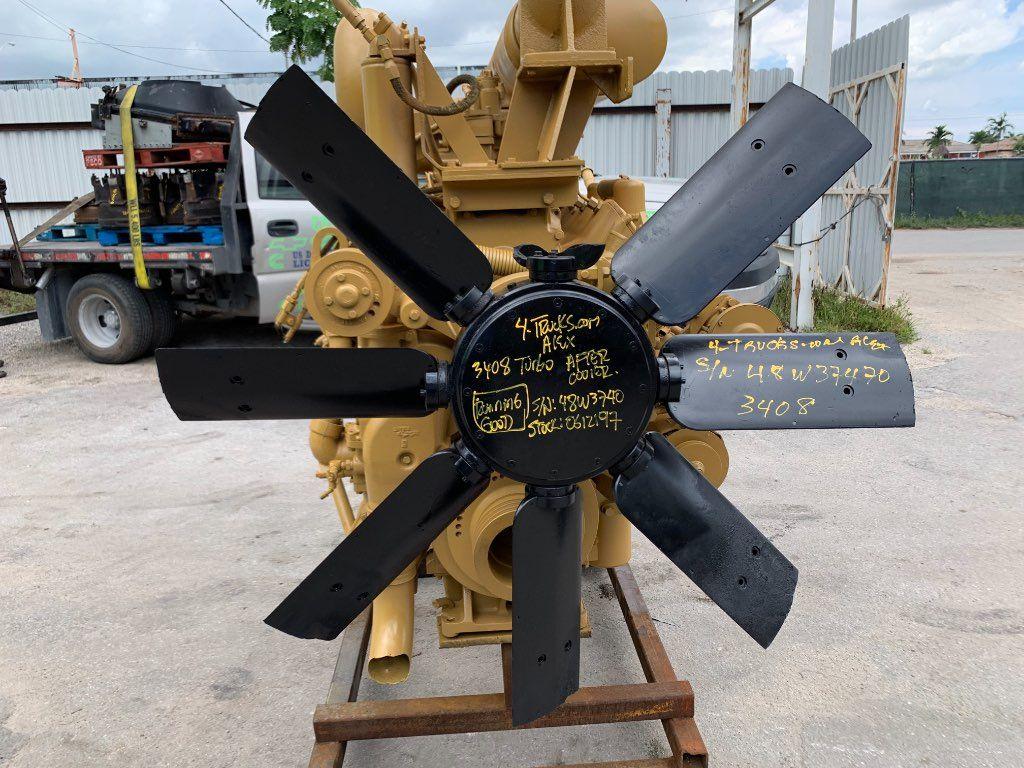 1995 CATERPILLAR 3408 TURBO ENGINES 475HP , 135-0612197 - SN:48W3740