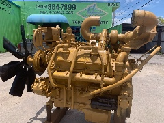 1995 CATERPILLAR 3408 TURBO ENGINES 500 HP , 155-0614197 - SN:48W8481